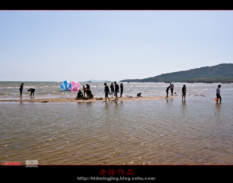 国庆节,葫芦岛的海滨