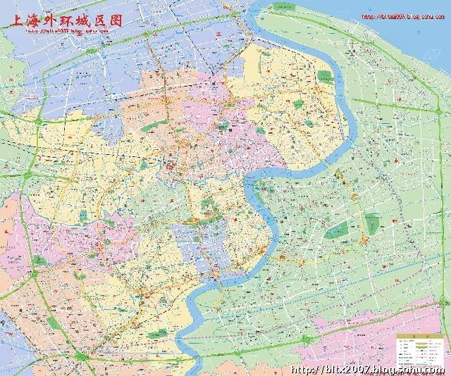 上海世界地图