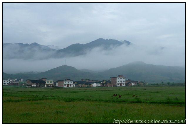云雾缭绕炎帝陵