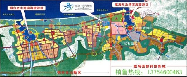 2020年牟平新城规划图