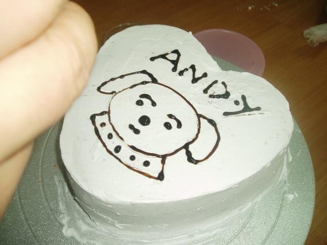 简单又可爱的蛋糕画