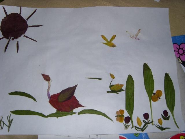 海绵纸手工贴画步骤_绘画分享