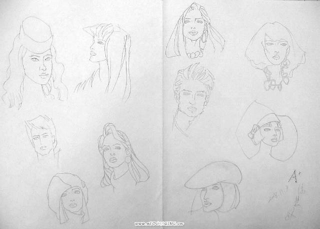 服装画人物头像_画素描人物头像的诀窍,画素描人物头像的视频