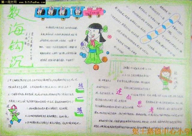 小学生手抄报集锦(希望同学们能够互相学习)-快乐