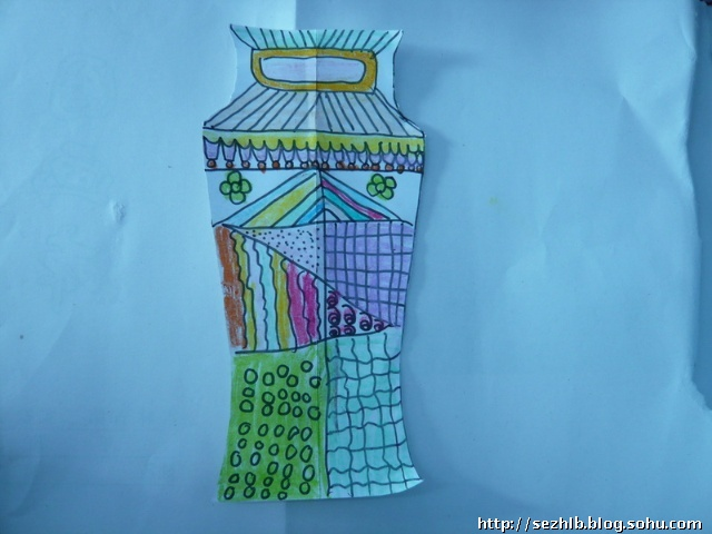 美术作品——漂亮的瓶子(二)图片