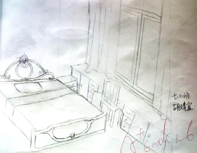 《美术》下册《手绘线条图像的表达》2-3课学生作业展示  第2课 立体