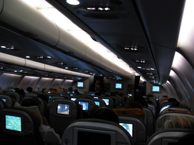 空客a360-600型客机配备不错哦