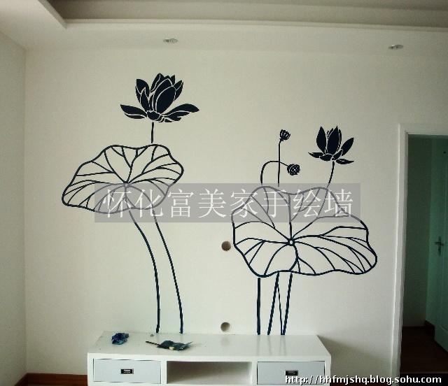 怀化富美家手绘墙画艺