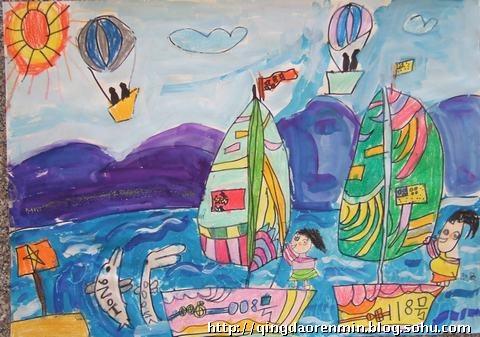 儿童绘画图片大全8岁 儿童绘画作品大全8岁 8岁儿童画画动物大全图片