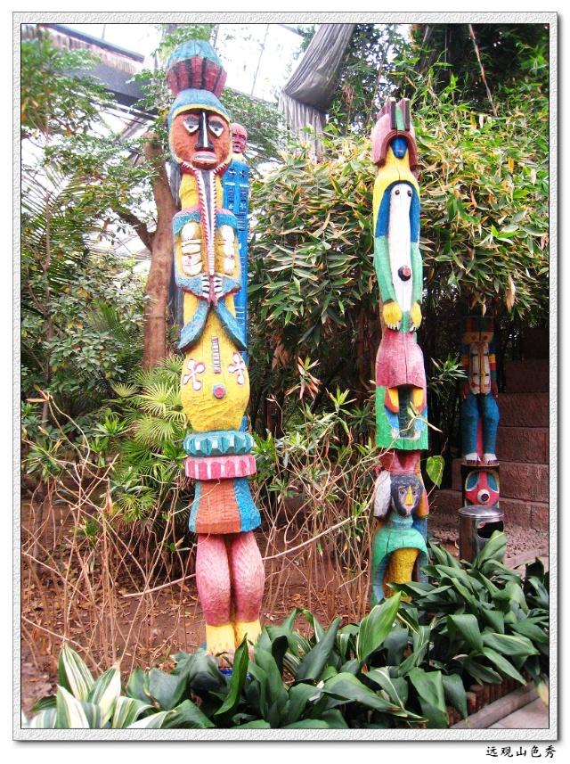 【玛雅人的图腾和金字塔】