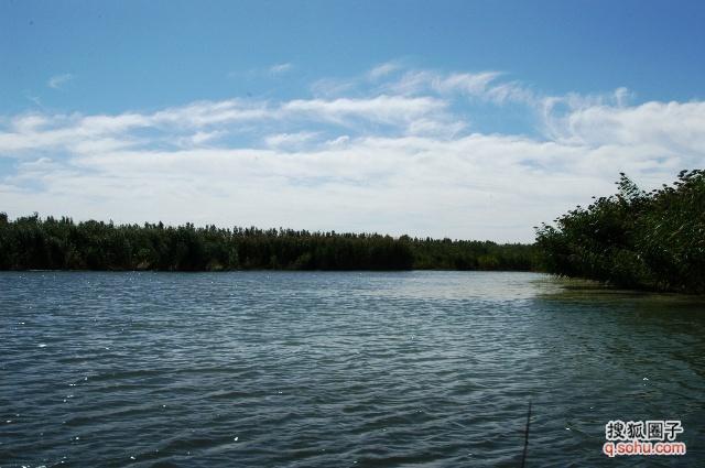 内蒙古 纳林湖 风景 原摄