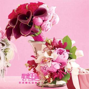 2010年婚礼花艺流行色大猜想,4种超美配色点亮灵感