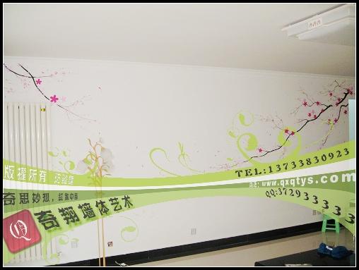 郑州墙绘 温馨家居,可爱儿童房【奇翔新作】