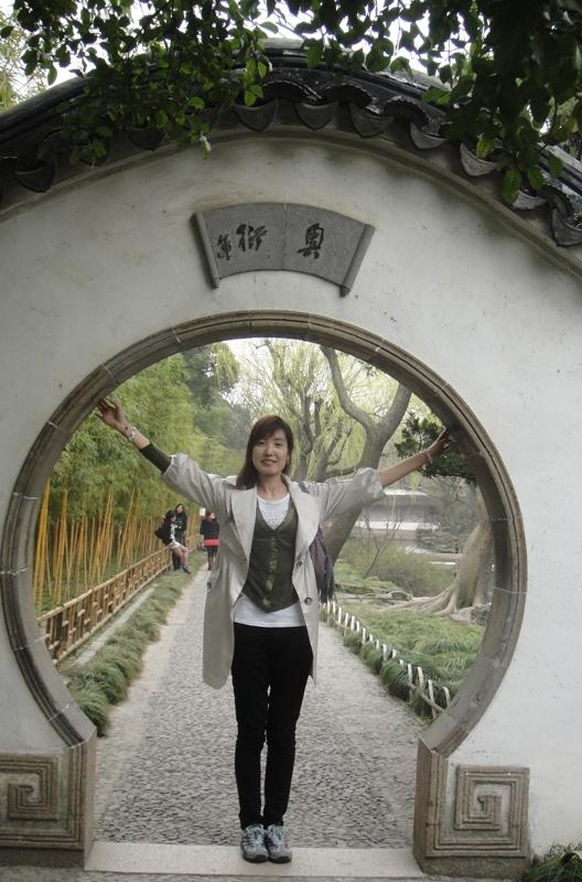 园林拱门简笔画
