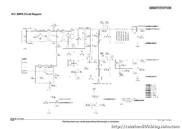 三星ml1610d打印机电源板电路图