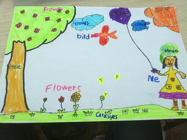 春天来了小学生图画内容|春天来了小学生图画图片图片