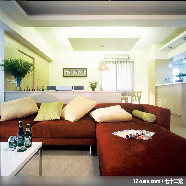 客厅造型灯光装修效果图