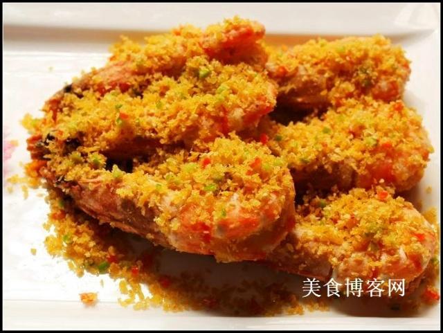 避风塘炒大虾图片