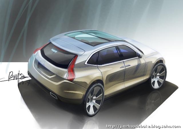 volve沃尔沃新车设计图预测.