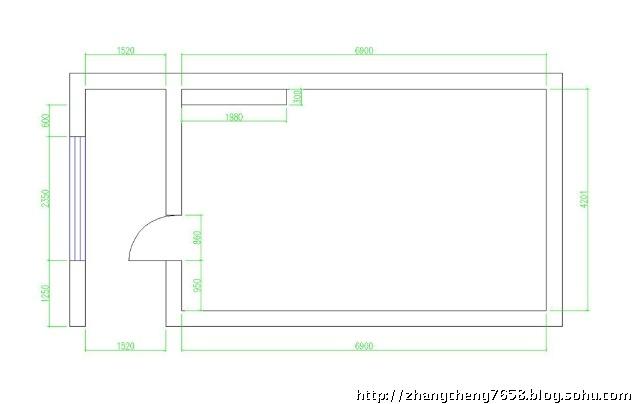 ids高端设计工作室的设计方案草稿,使用面积28平米,房高3米15