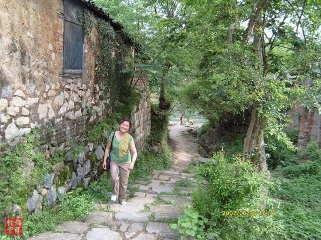 永州的风景小路图片