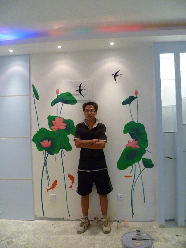 济南艺品墙绘|手绘墙