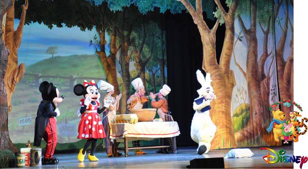迪士尼舞台动物袋鼠