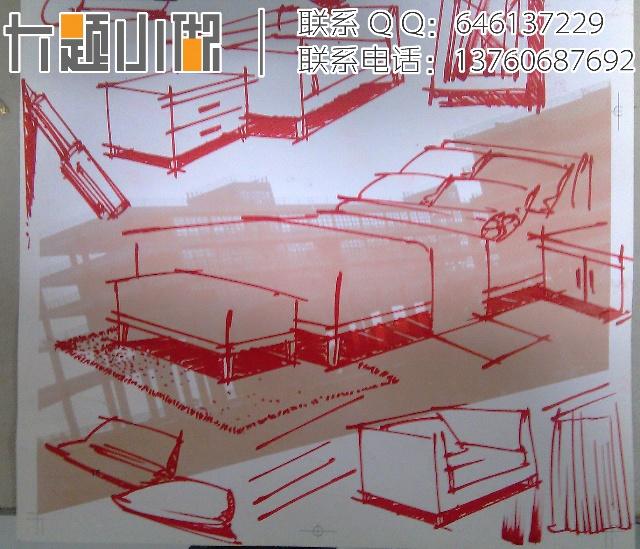 平面设计方向暑假班手绘-广美设计考研培训机构-搜狐