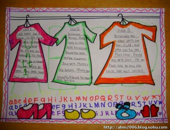 三年级英语小报 三年级英语小报图片 初三英语小报