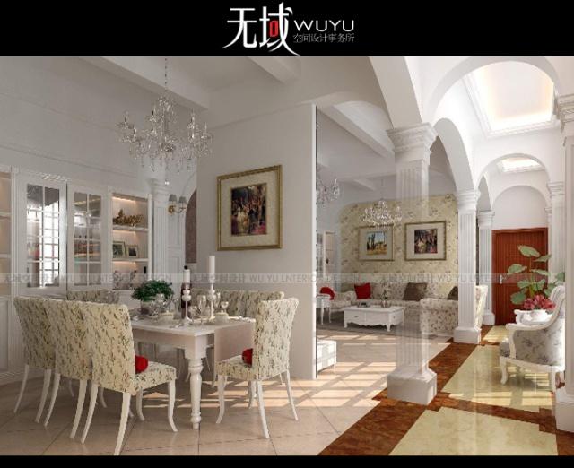 所--怡静悠然--欧式田园风格500平独栋别墅设计案例
