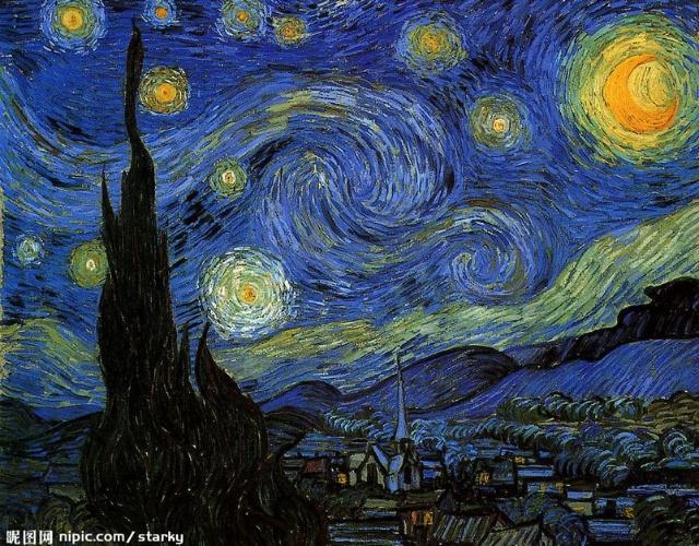 繁星之夜图片