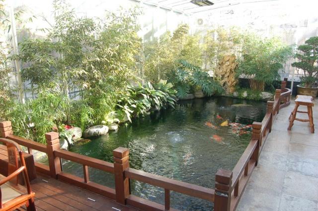 别墅花园小鱼池设计图展示