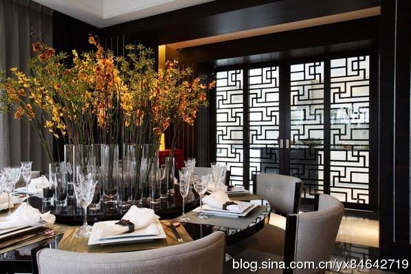 新中式大宅软装案例--台湾知名室内设计师邱德光作品