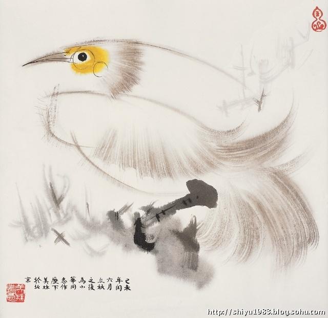 韩美林作品欣赏——动物画-1983艺术工作室-搜狐博客