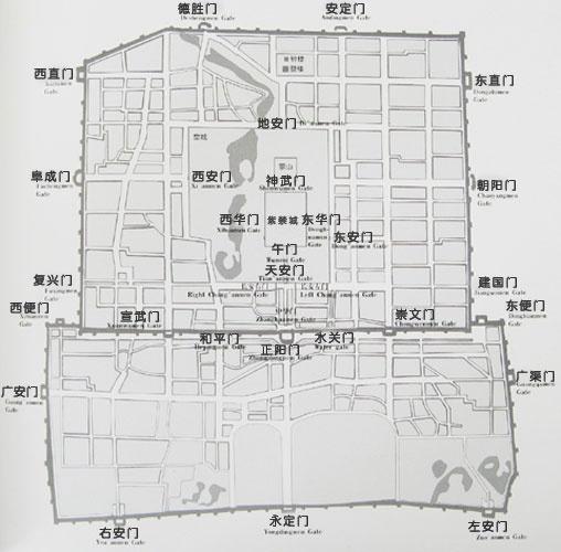 [转载]《看照片讲故事》系列之《老北京城门集锦》