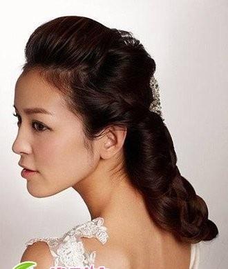 长发披发新娘发型