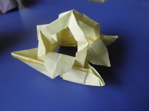 纸叠花篮全步骤图